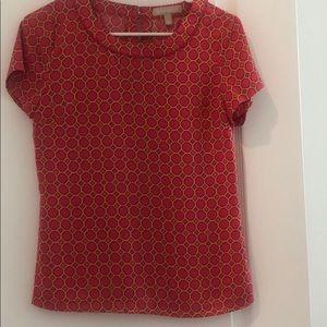 Ladies Size 0 silk Shirt